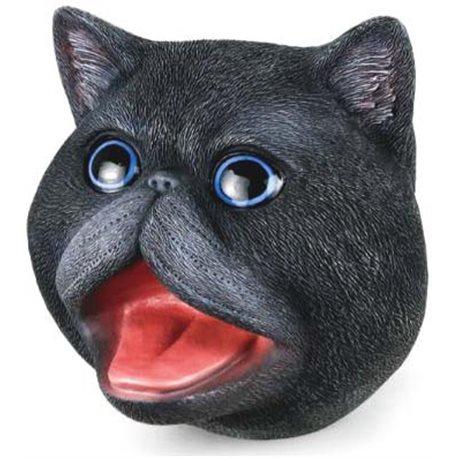 Фото Same Toy Игрушка-перчатка Кот черный [X326-B-UT]