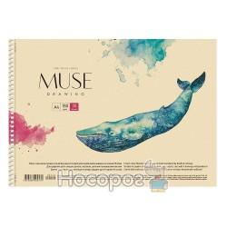 """Альбом для рисования Школярик А4 """"Muse"""""""