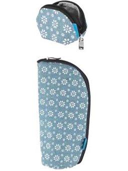 Набор (кошелек, чоход для пустышки) MyMia NV8806FLOWER цветочный орнамент [NV8806FLOWER]