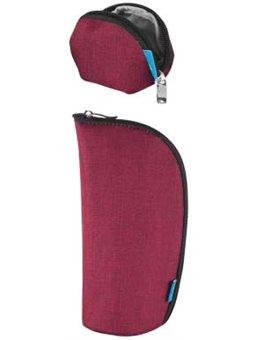 Набор (кошелек, чехол для пустышки) MyMia NV8806BORDEAUX бордовый [NV8806BORDEAUX]