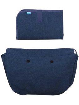 Набор (подложка и коврик для сповивання) MyMia NV8802NAVY темно-синий [NV8802NAVY]