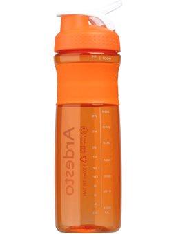 Бутылка для воды Ardesto Smart bottle 1000 мл, оранжевая, тритан [AR2204TO]