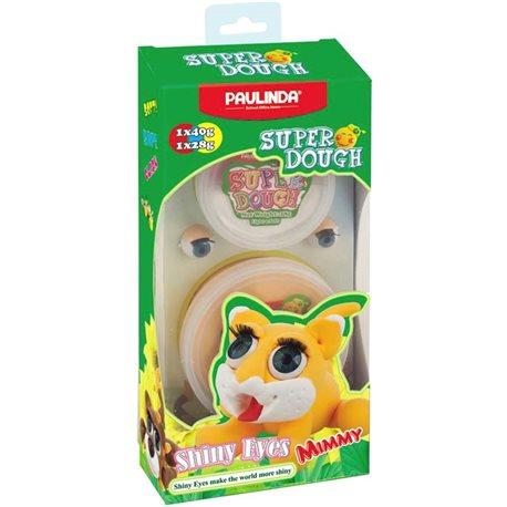 Фото PAULINDA Масса для лепки Super Dough Shiny Eyes Кот Mimmyглянцеви глаза [PL-081377-2]