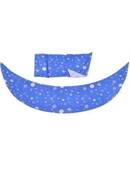 Nuvita Набор аксессуаров для подушки DreamWizard (наволочка, мини-подушка) Синий [NV7101BLUE]