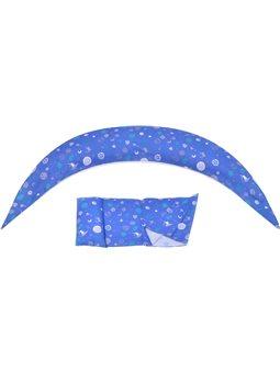 Nuvita Подушка для беременных 10 в 1 DreamWizard (синяя) [NV7100BLUE]