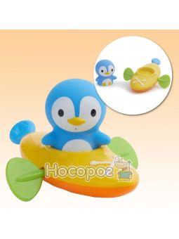 """Игрушка для ванны """"Пингвин гребец"""""""