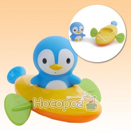 """Фото Игрушка для ванны """"Пингвин гребец"""""""