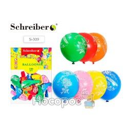 Воздушные шарики С праздником SCHREIBER S-309