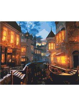 Картина по номерам Венецианский вечер [КНО2159]