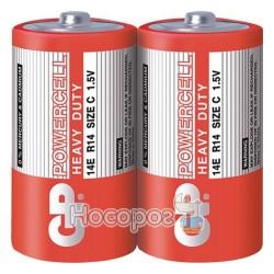 Батарейки GP 14E-S2 сольова R14, С 4891199058509 (2)