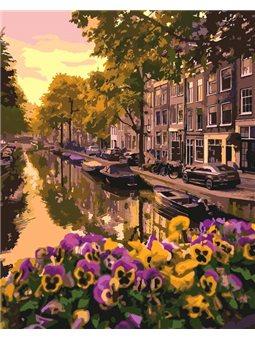 Картина по номерам Амстердам [КНО3553]