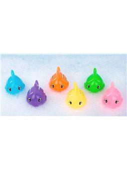 Набор игрушек для купания Цветные рыбки (укр. упаковка), BeBeLino [57090]