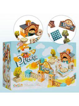 Деревянная развивающая игра Пиццерия 14835