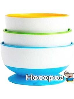 Набор тарелок с присосками Munchkin 3 шт [01107504]