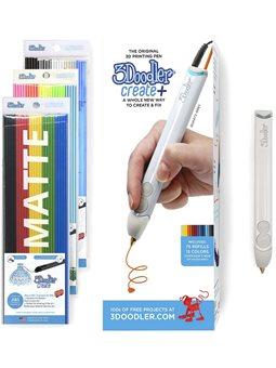 3D-Ручка 3Doodler Create Plus Для Профессионального Использования - Серая [8CPSGYEU3E]