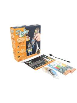 3D-Ручка 3Doodler Start Для Дитячої Творчості - Креатив (48 Стрижнів, Прозора) [8SPSESCL3R]