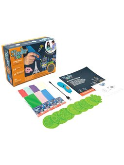 3D-Ручка 3Doodler Start Для Детского Творчества - Мегакреатив (192 Стержня, 8 Шаблонов) [3DS-MEGA-FES-E]