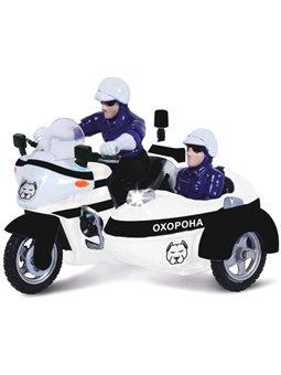 Автомодель - Мотоцикл Охрана (Свет, Звук) [CT1247/2US]