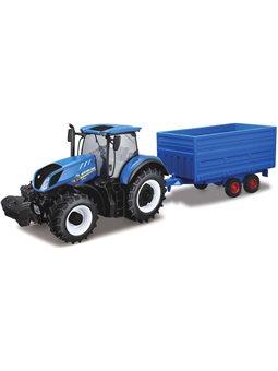 Автомодель Серии Farm - Трактор New Holland С Прицепом [18-44067]