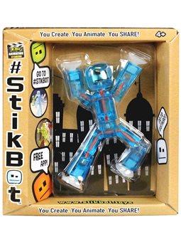 Фигурка Для Анимационного Творчества Stikbot S1 (Синий) [TST616Bl]