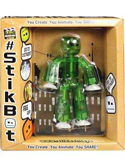 Фигурка Для Анимационного Творчества Stikbot S1 (Зеленый) [TST616G]