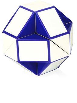 Головоломка Rubik's - Змейка (Бело-Голубая) [RBL808-1]