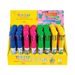 Ручка 10 цветов TZ9752