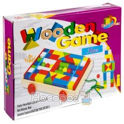 Деревянная игрушка Городок MD 0006 (конструктор)