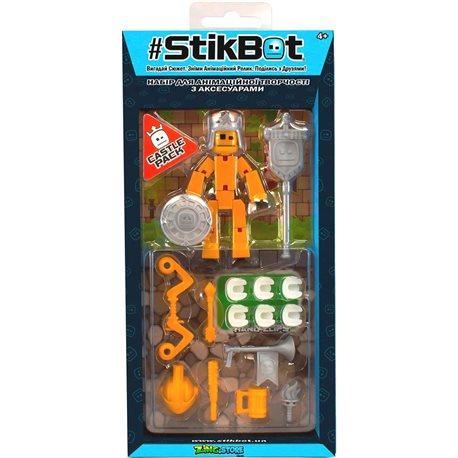 Фото Игровой Набор Для Анимационного Творчества Stikbot S3 - Рыцарь [TST3620C]