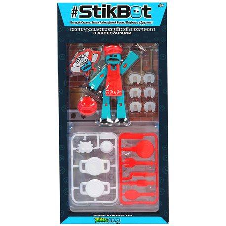 Фото Игровой Набор Для Анимационного Творчества Stikbot S4 – Кулинарное Шоу [TST4620C]