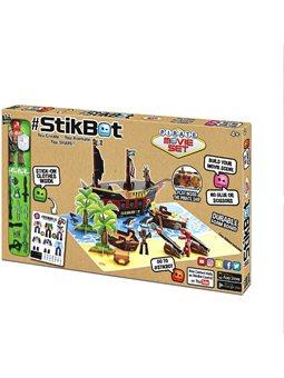 Игровой набор для творчества STIKBOT S2 – ОСТРОВ СОКРОВИЩ [TST623P]