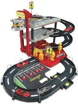 Игровой Набор - Гараж Ferrari 3 Уровня (1:43) [18-31204]