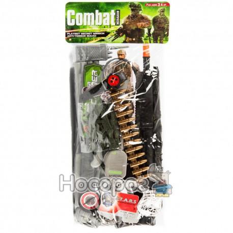 Набор военный 66554 (автомат, нож, гранаты, наручники) (60)