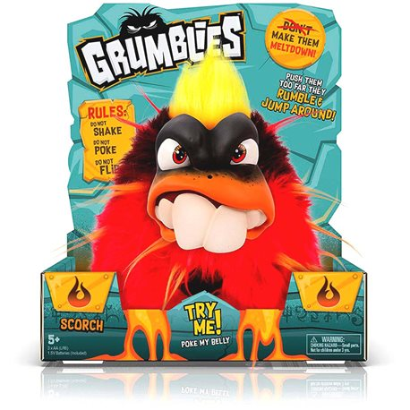 Фото Интерактивная Игрушка Grumblies S2- Вулкан [02249-S]