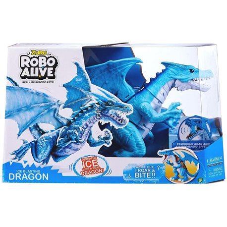 Фото Интерактивная Игрушка Robo Alive - Снежный Дракон [7115B]
