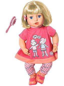 Интерактивная Кукла Baby Annabell - Повторюшка Джулия [700662]