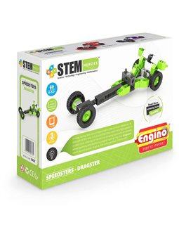 Конструктор Stem Heroes - Спортивные Автомобили: Драгстер [SH32]