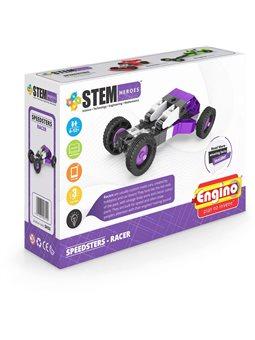 Конструктор Stem Heroes - Спортивные Автомобили: Гоночный [SH33]