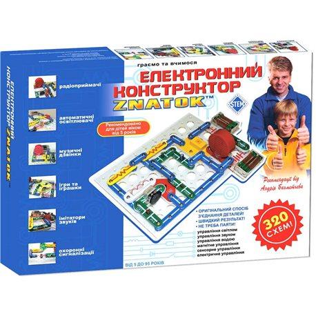 Конструктор - Znatok (320 Схем) [REW-K002]