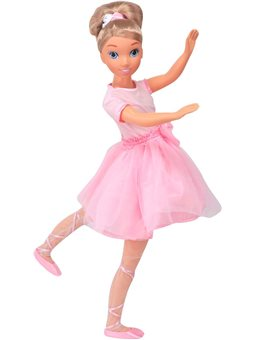Кукла BAMBOLINA MOLLY- ПРИМА-БАЛЕРИНА [BD1383]