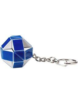 Міні-Головоломка Rubik's - Змійка Біло-Блакитна [RK-000146]