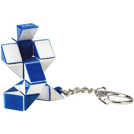 Фото Мини-Головоломка Rubik's – Змейка Бело-Голубая [RK-000146]