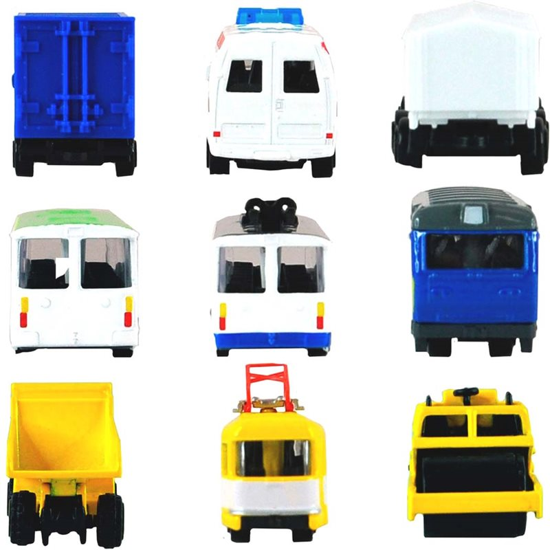 Фото Мини-Модели Служебный Транспорт -Машинка В Яйце [SB-19-02-CDU]