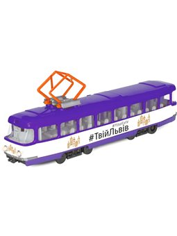 Модель – Городской Трамвай Львов [SB-16-66WB-UL]