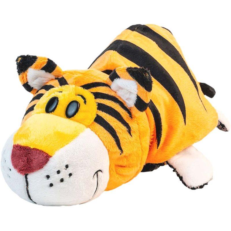 Фото Мягкая Игрушка С Пайетками 2 В 1 - ZooPrяtki - Слон-Тигр (30 Cm) [517IT-ZPR]