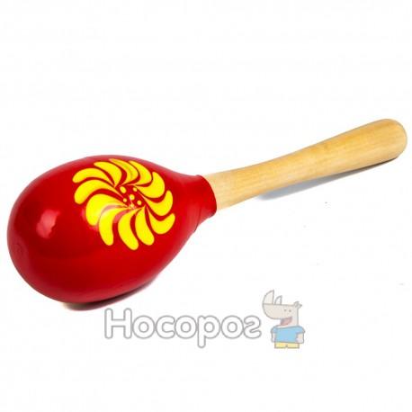 Деревянная игрушка Маракас MD 0029 (8 видов, 20 см) (150)