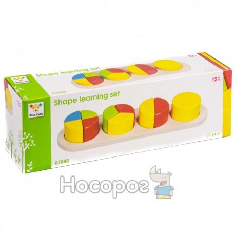 Деревянная игрушка Геометрика MD 0507/8788 В (48)