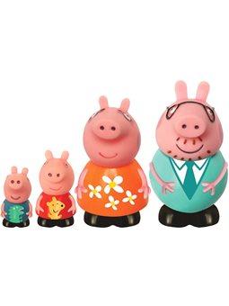 Набір іграшок-Бризгунчіков Peppa - Сім'я Пеппі [25068]