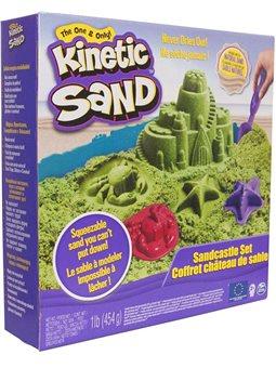 Набор Песка Для Творчества - Kinetic Sand Замок Из Песка (Зеленый) [71402G]