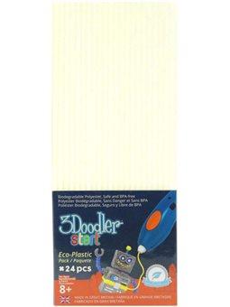 Набор Стержней Для 3D-Ручки 3Doodler Start - Светящиеся В Темноте [3DS-ECO09-GLOW-24]